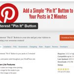 Come installare e configurare il plugin Pinterest per WordPress.