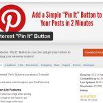 Come installare e configurare il plugin Pinterest per WordPress.