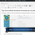 Top List eccellente strumento di formato per raccolte targato Altervista.