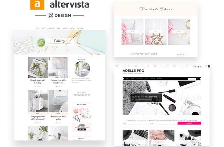 Come avere temi WordPress professionali e responsive gratis disponibili per chi apre un blog su Altervista.